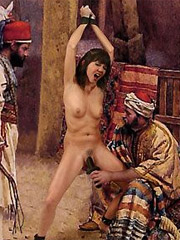 Harem rules are very strict to white slaves!